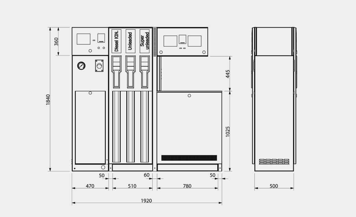 dystrybutor paliwa neotec combi mdp 8000 specyfikacja techniczna