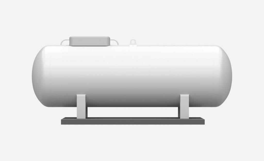 zbiornik paliwa dwuplaszczowy naziemny